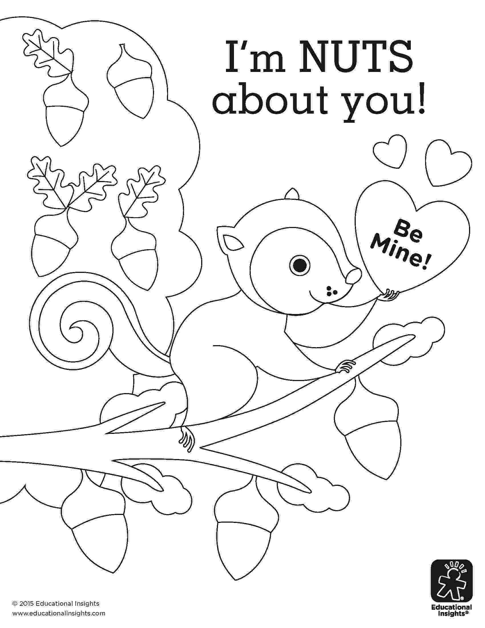 nuts coloring pages happy squirrel with nuts coloring page download free pages coloring nuts