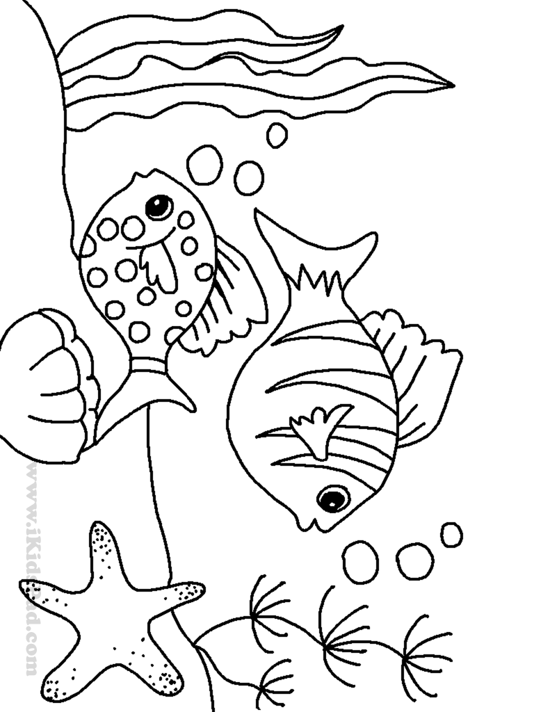 ocean animals coloring pages ocean coloring pages getcoloringpagescom coloring pages ocean animals