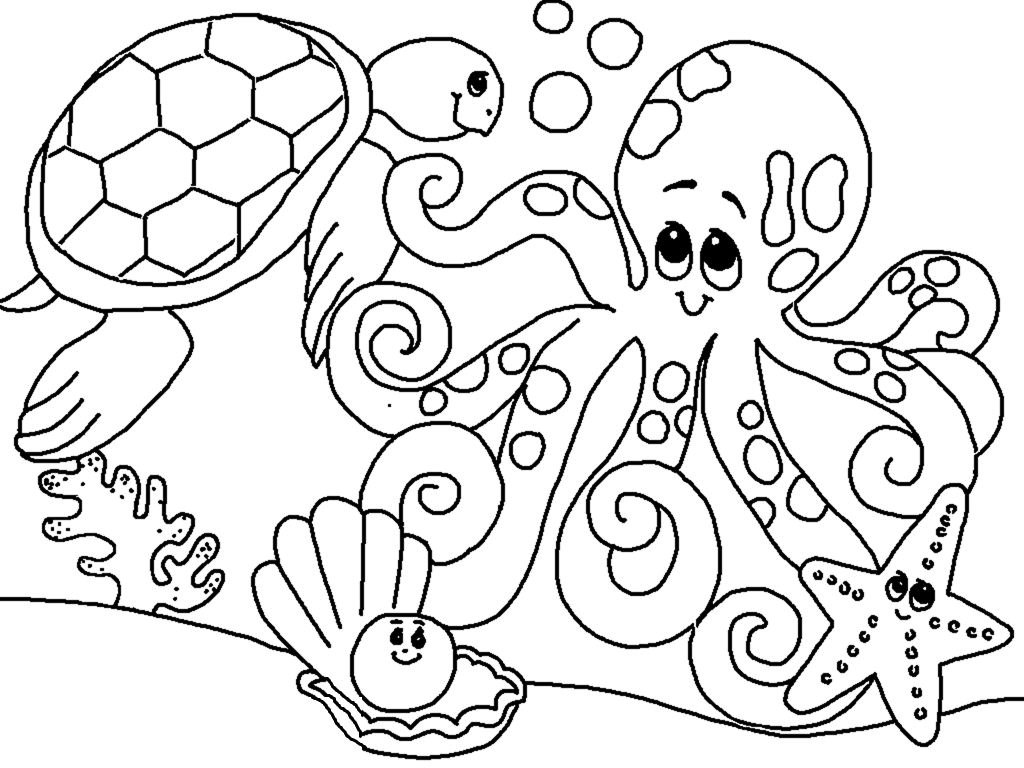 ocean animals coloring pages sea coloring pages to download and print for free animals coloring ocean pages