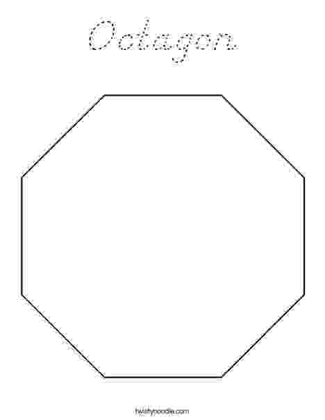 octagon coloring sheet o is for octagon coloring page twisty noodle sheet coloring octagon