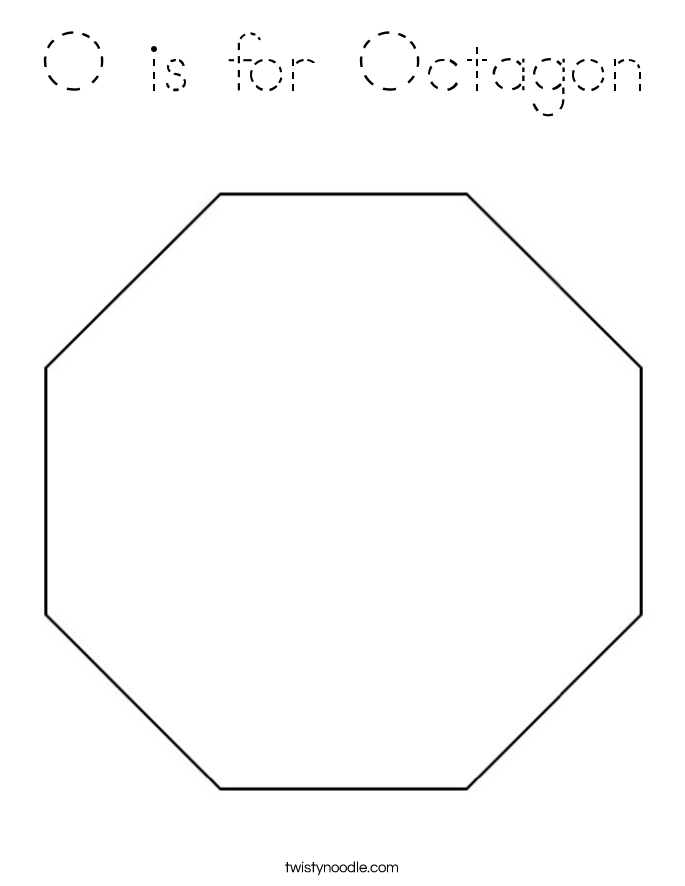 octagon coloring sheet octagon coloring page d39nealian twisty noodle sheet octagon coloring