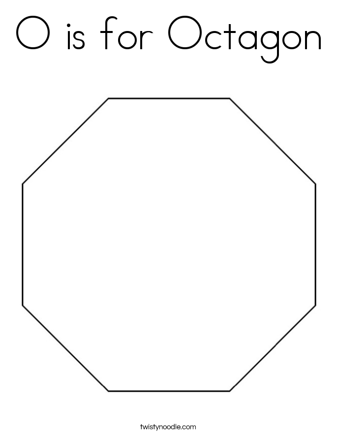 octagon coloring sheet octagon coloring page school ideas pinterest shapes sheet octagon coloring
