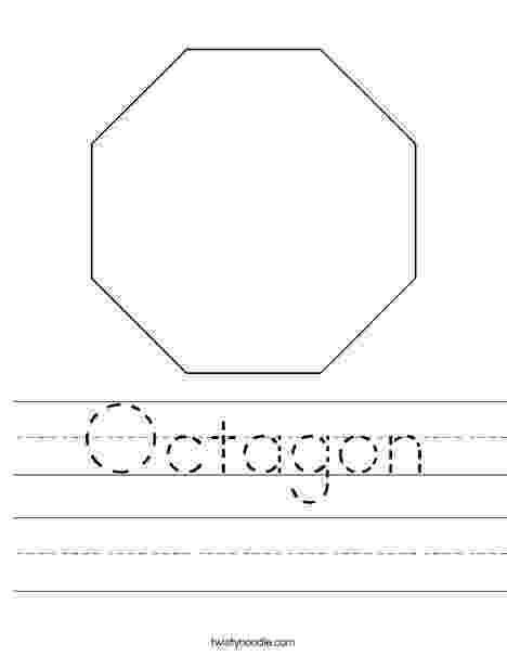 octagon coloring sheet octagon coloring page twisty noodle octagon coloring sheet