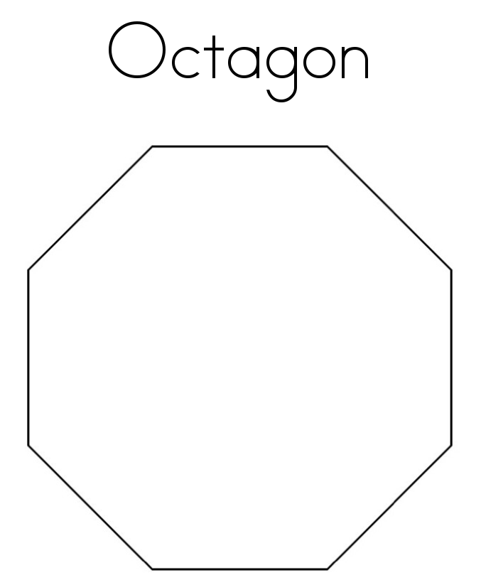 octagon coloring sheet octagon coloring page twisty noodle sheet coloring octagon