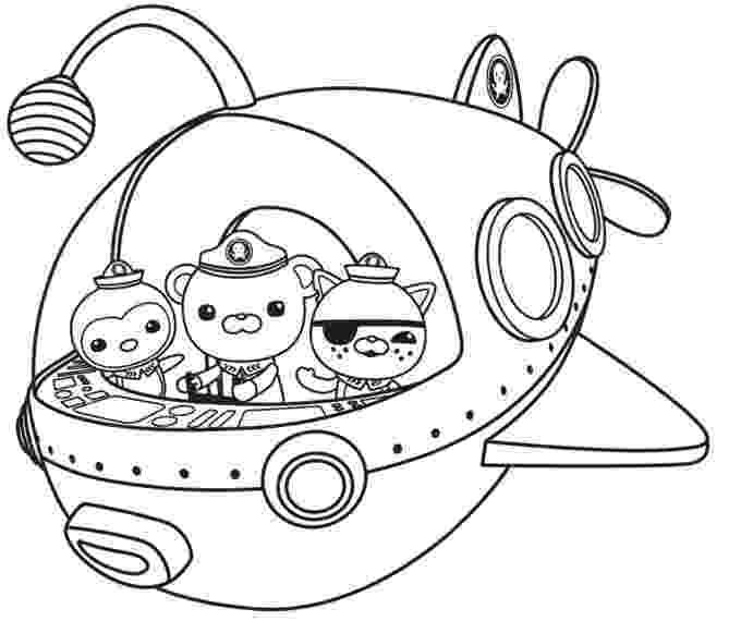 octonauts coloring octonauts to print octonauts kids coloring pages coloring octonauts