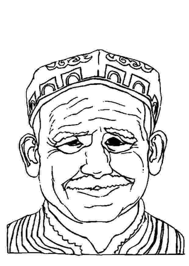 old man coloring pages aladdin abu and an old man in the desert coloring page old coloring man pages