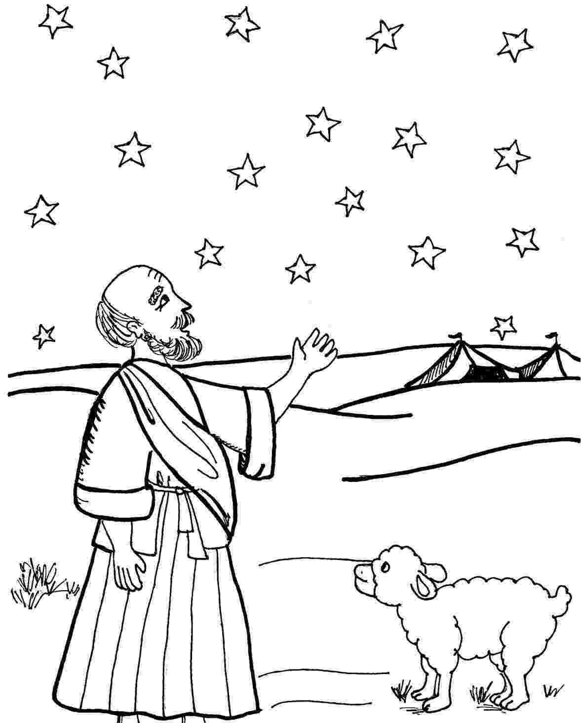 old testament coloring pages abraham abraham drawings testament old pages coloring