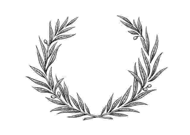 olive branch sketch olive wreath drawing at paintingvalleycom explore sketch olive branch