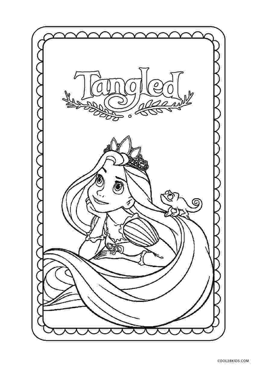 online coloring pages disney for free free printable tangled coloring pages for kids cool2bkids pages disney coloring for free online