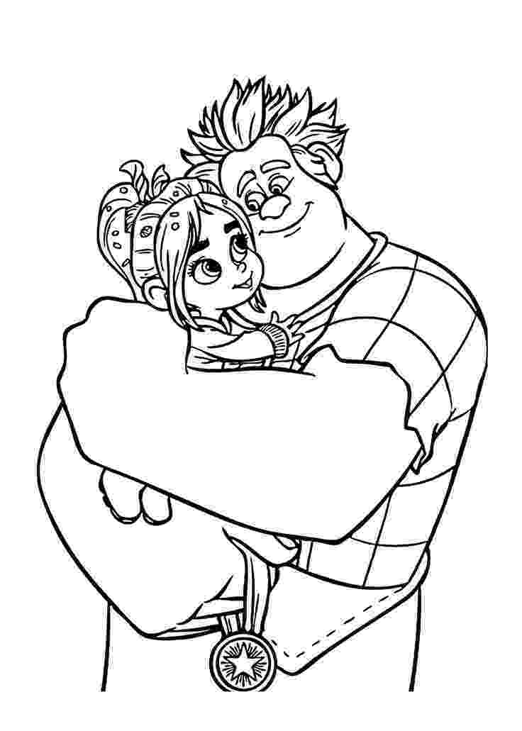online coloring pages disney for free ralph and vanellope coloring pages for kids printable online for disney pages coloring free