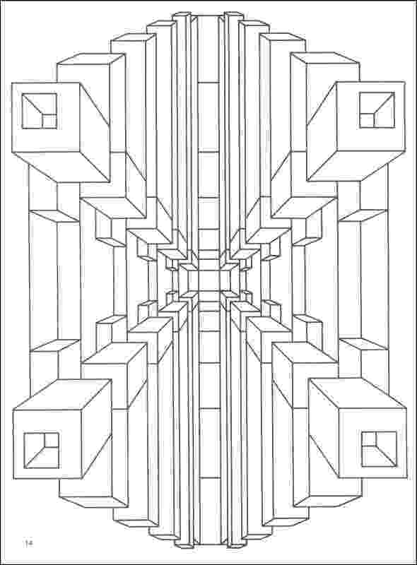 optical illusions coloring pages free coloring pages printables a girl and a glue gun illusions optical coloring pages