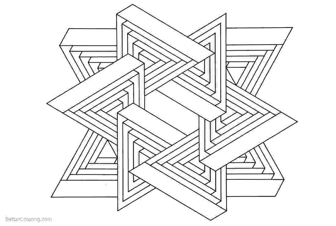 optical illusions coloring pages the colonel39s home page illusions coloring optical pages
