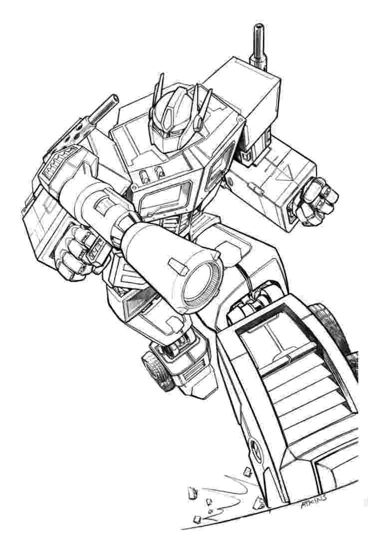 optimus prime coloring page optimus prime by billybosskeen on deviantart coloring prime optimus page