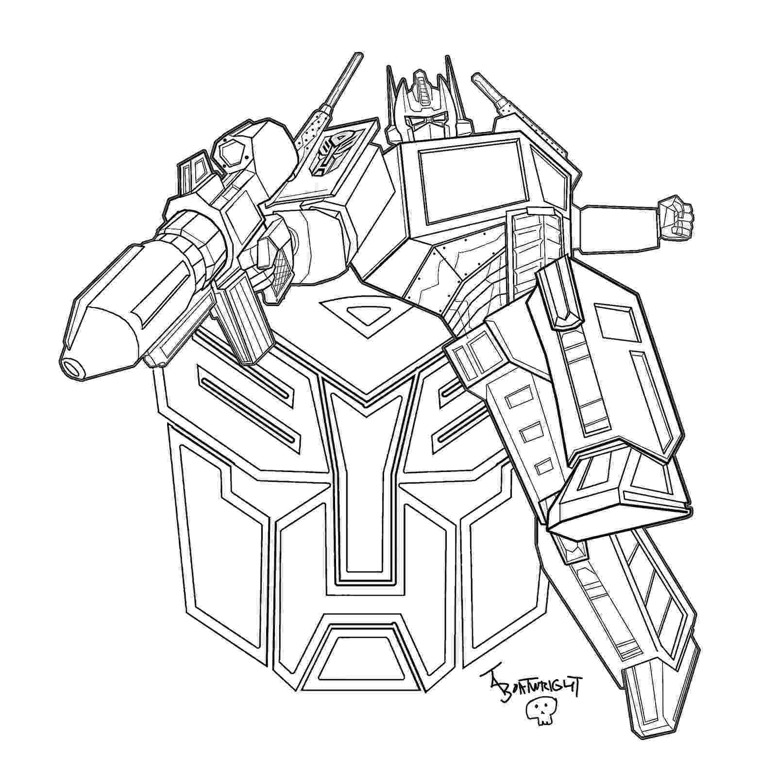 optimus prime coloring page optimus prime face drawing at getdrawingscom free for coloring prime page optimus