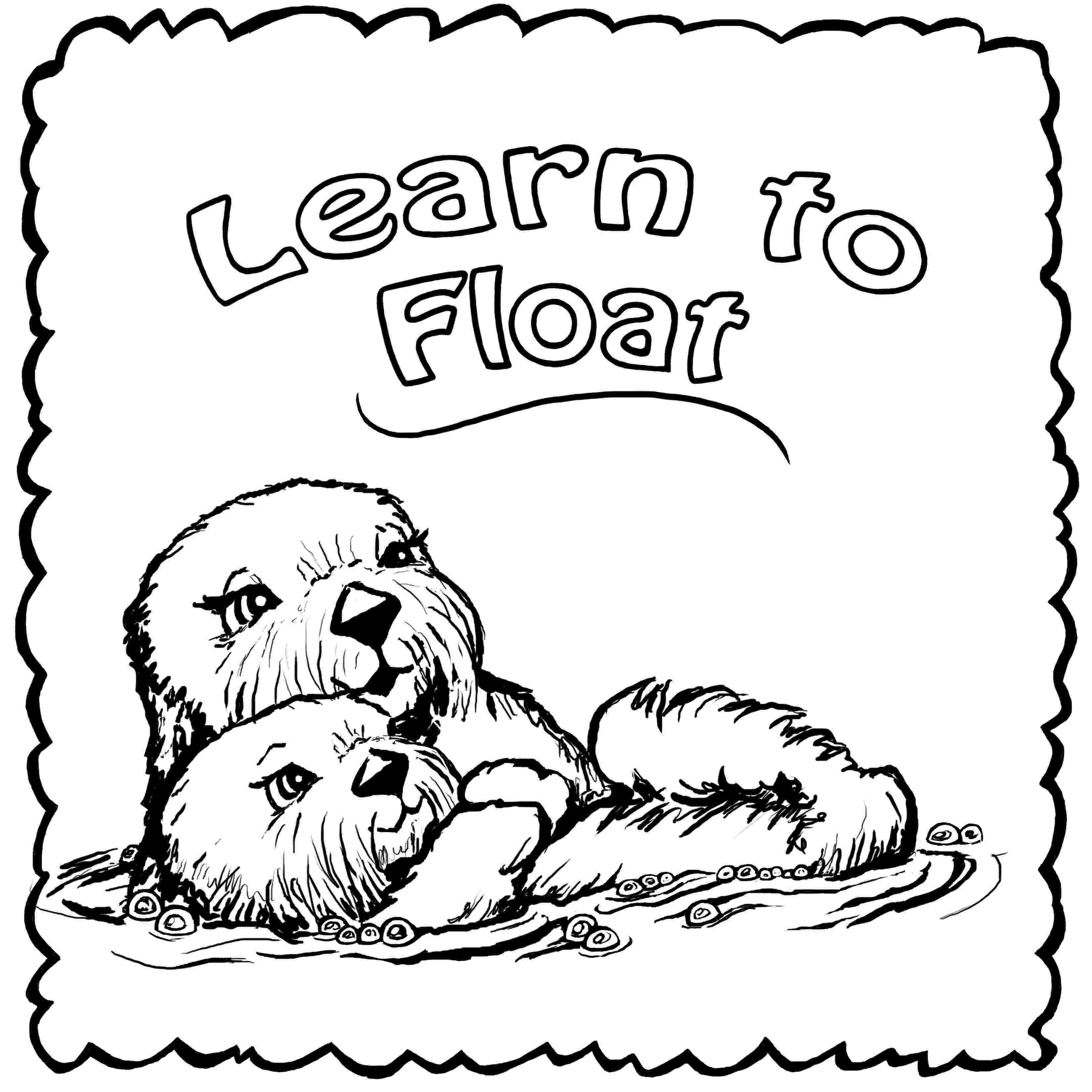 otter coloring pages by toutatis what came before 1 the beast of acklam otter pages coloring