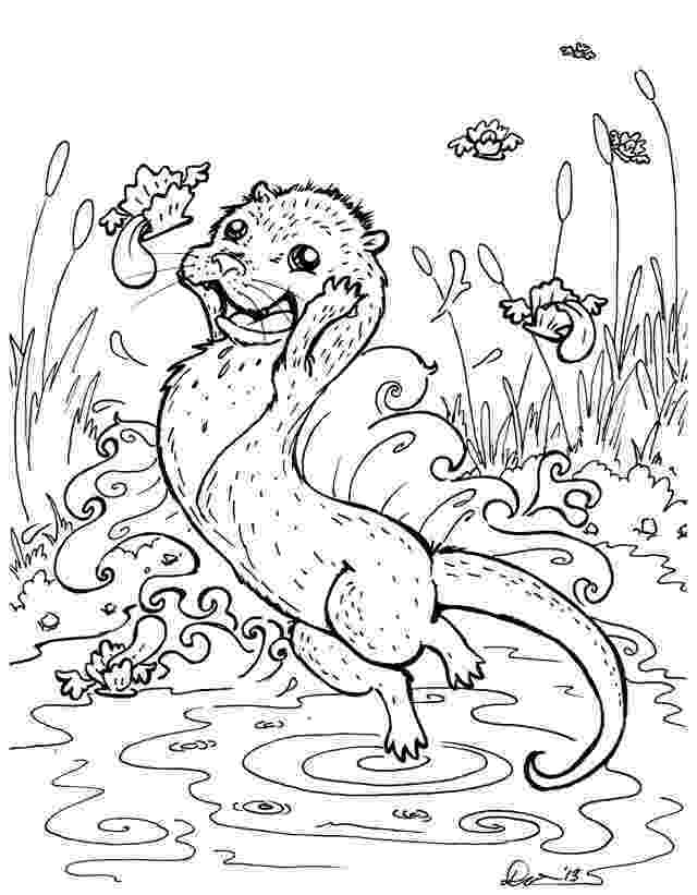 otter coloring pages otter coloring pages download and print for free coloring pages otter