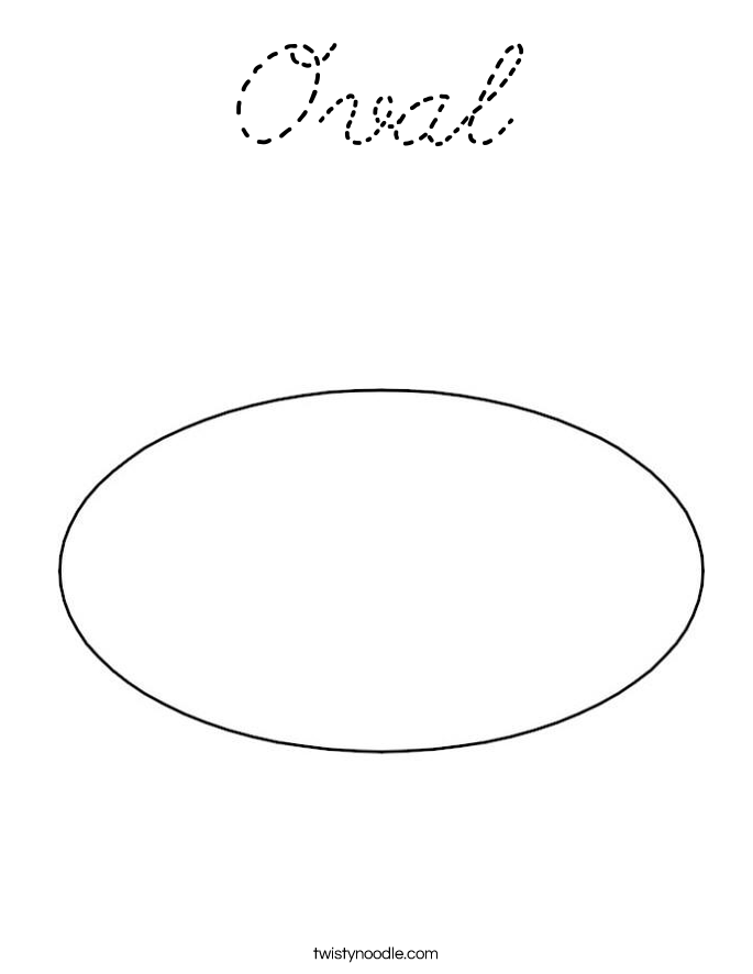 oval coloring page oval coloring page cursive twisty noodle coloring page oval