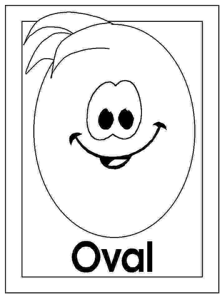 oval coloring page shapes coloring pages coloring page oval