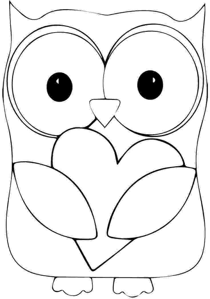 owl colouring template cute owl coloring page free printable coloring pages template owl colouring