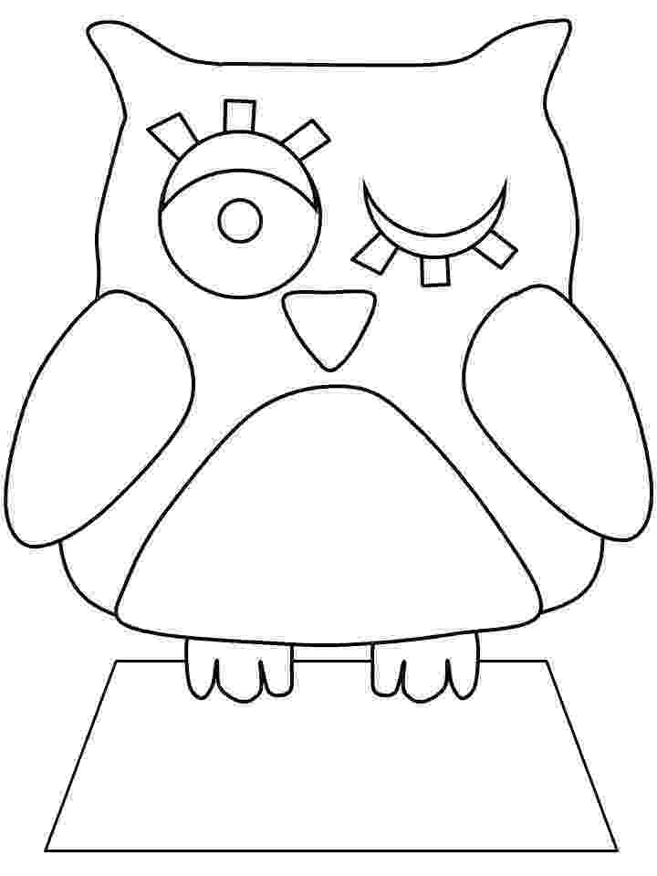 owl colouring template owl template animal templates free premium templates template owl colouring