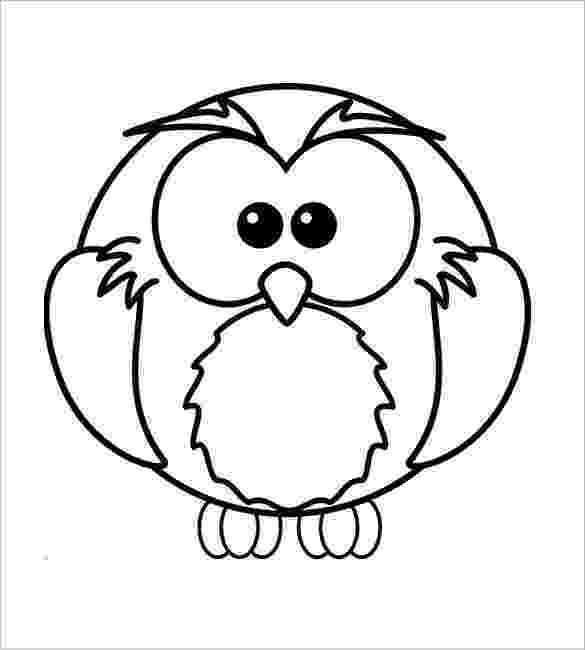 owl colouring template printable color pages of owls and elephants google template owl colouring
