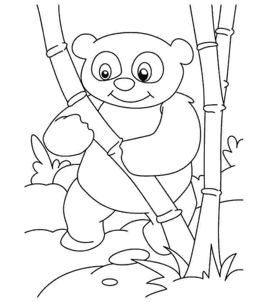panda coloring sheets free printable panda coloring pages for kids cool2bkids panda coloring sheets
