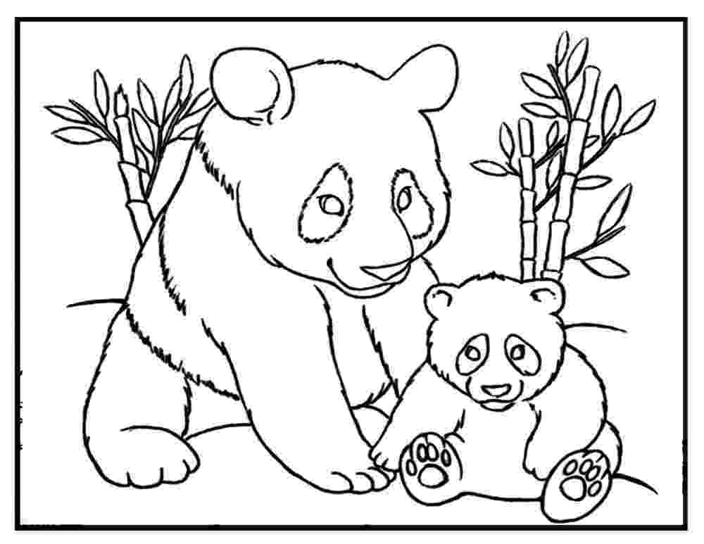panda coloring sheets free printable panda coloring pages for kids cool2bkids panda coloring sheets 1 1