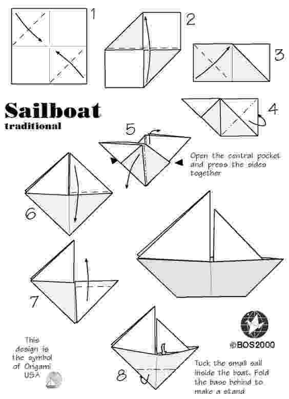 paper boat instructions printable how to make an origami boat step by step guide stem instructions paper boat printable