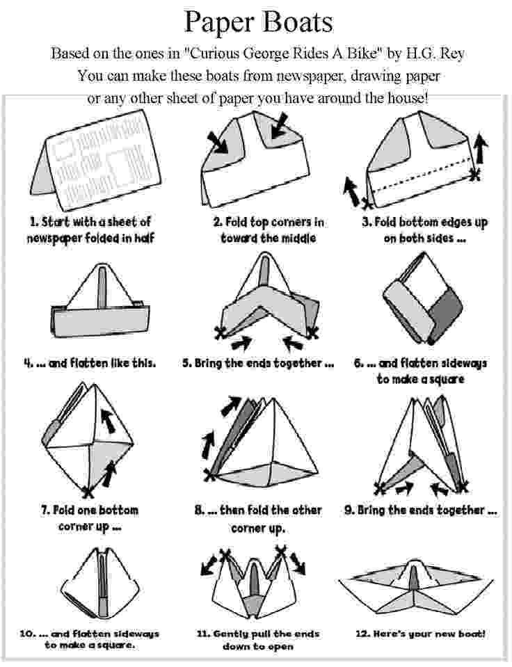 paper boat instructions printable maritime makers how to fold a paper boat printable printable instructions boat paper