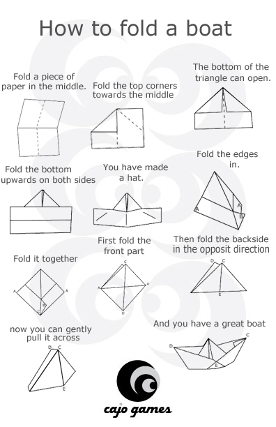 paper boat instructions printable my mom used to make these paper boats for me during church printable paper instructions boat