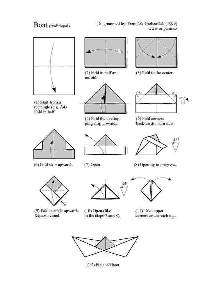 paper boat instructions printable outside the box sailboat for creative writing printable paper instructions boat