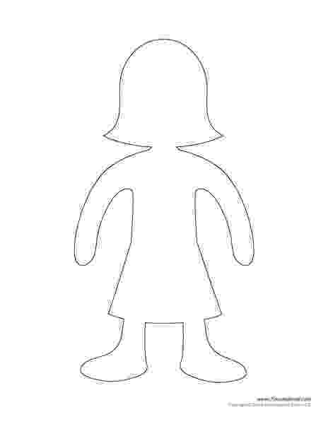 paper doll template paper dolls real people template paper doll