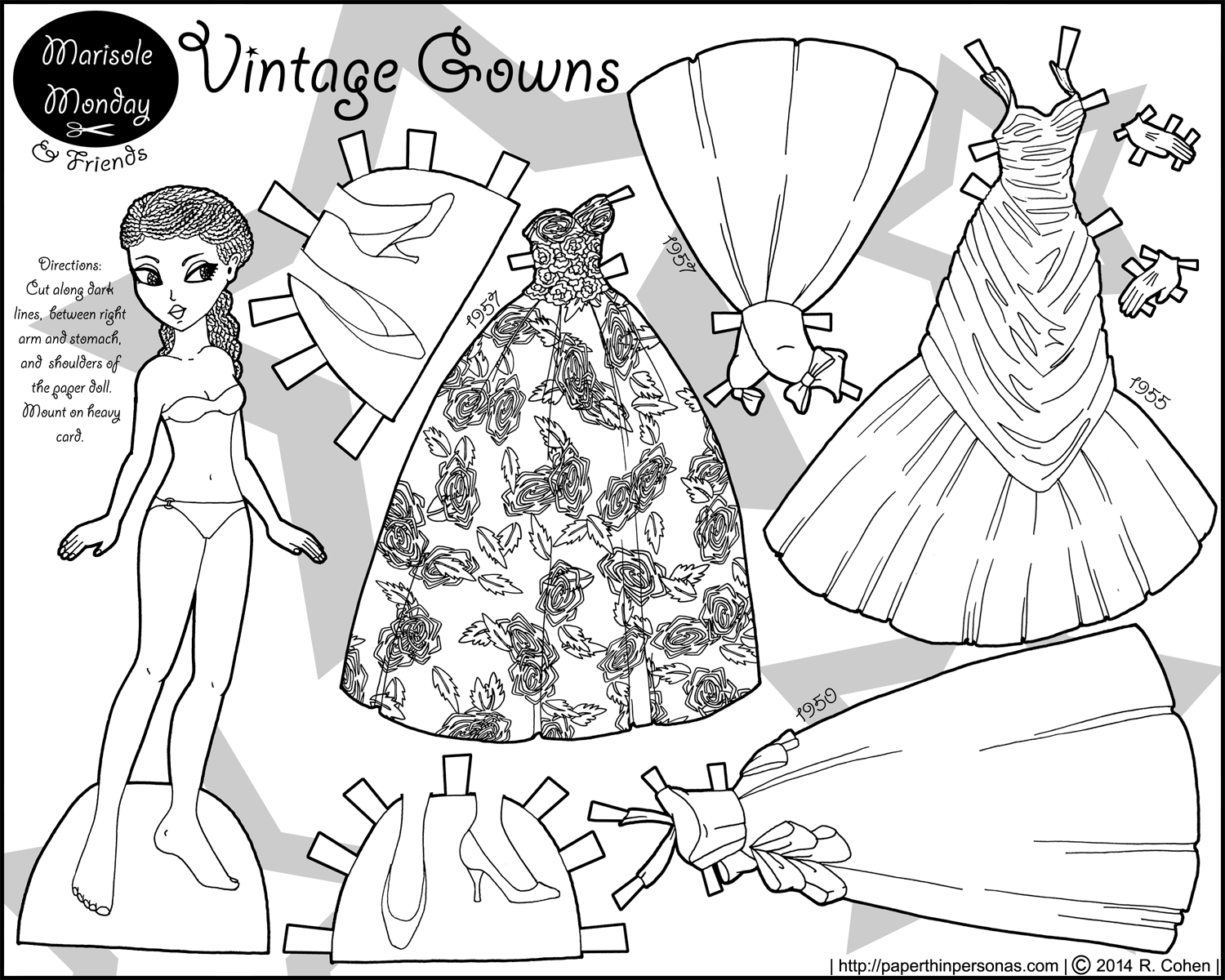 paper dress up dolls printable free printable paper doll cutout templates for kids and dolls up printable dress paper