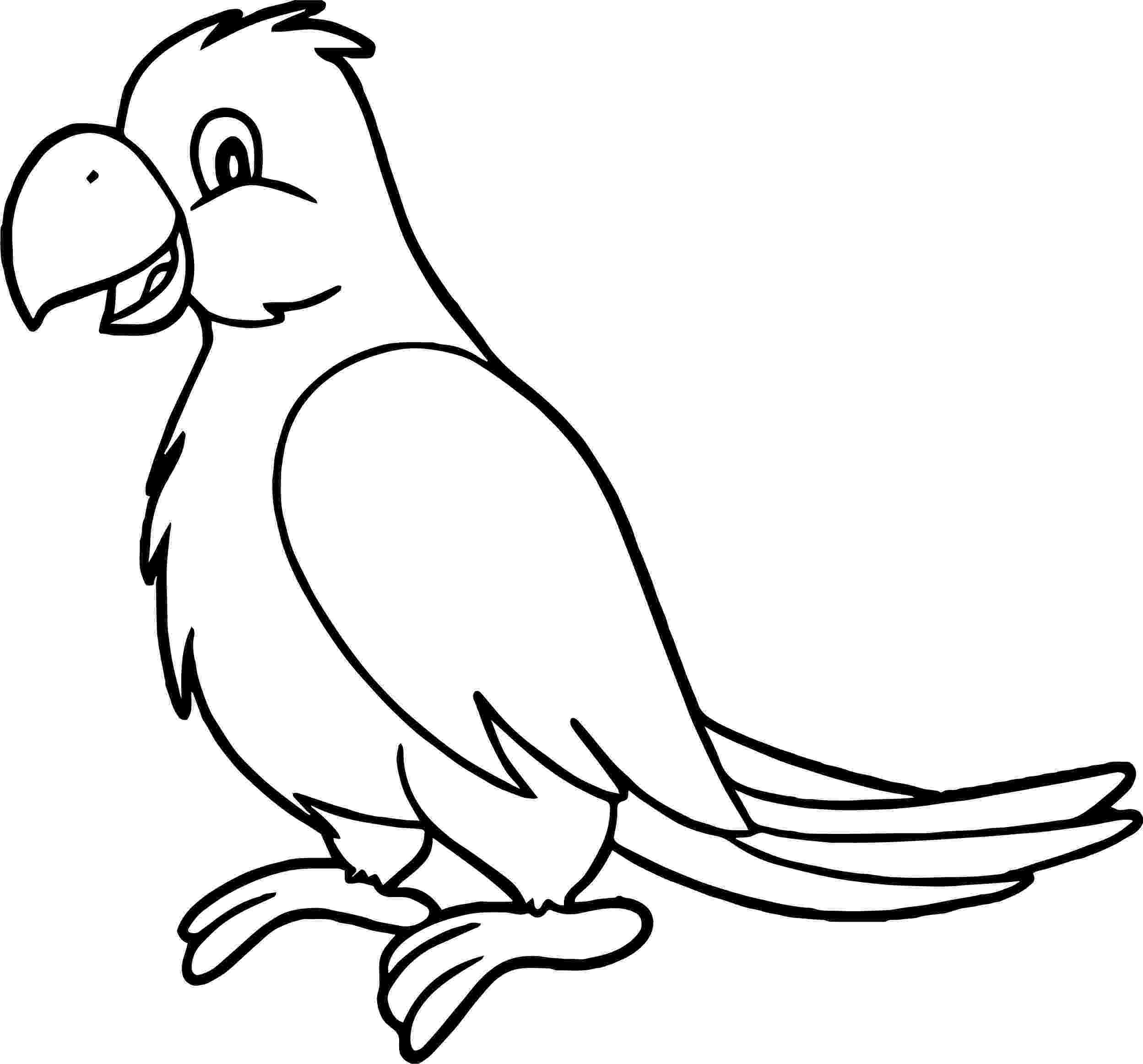 parrot pictures for kids to color free printable parrot coloring pages for kids parrot kids for color pictures to