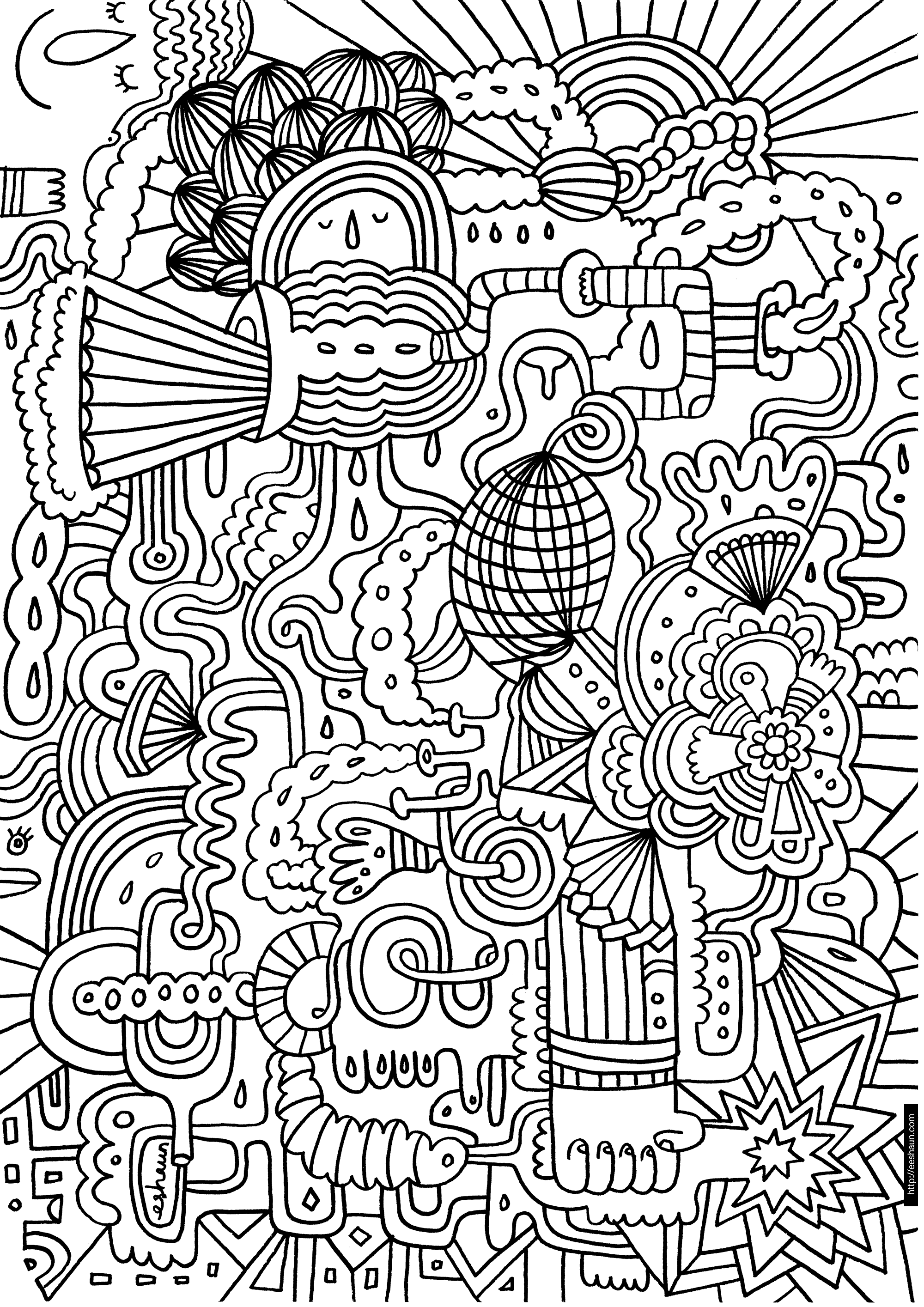 pattern colouring pages don39t eat the paste rainbow coloring page colouring pages pattern