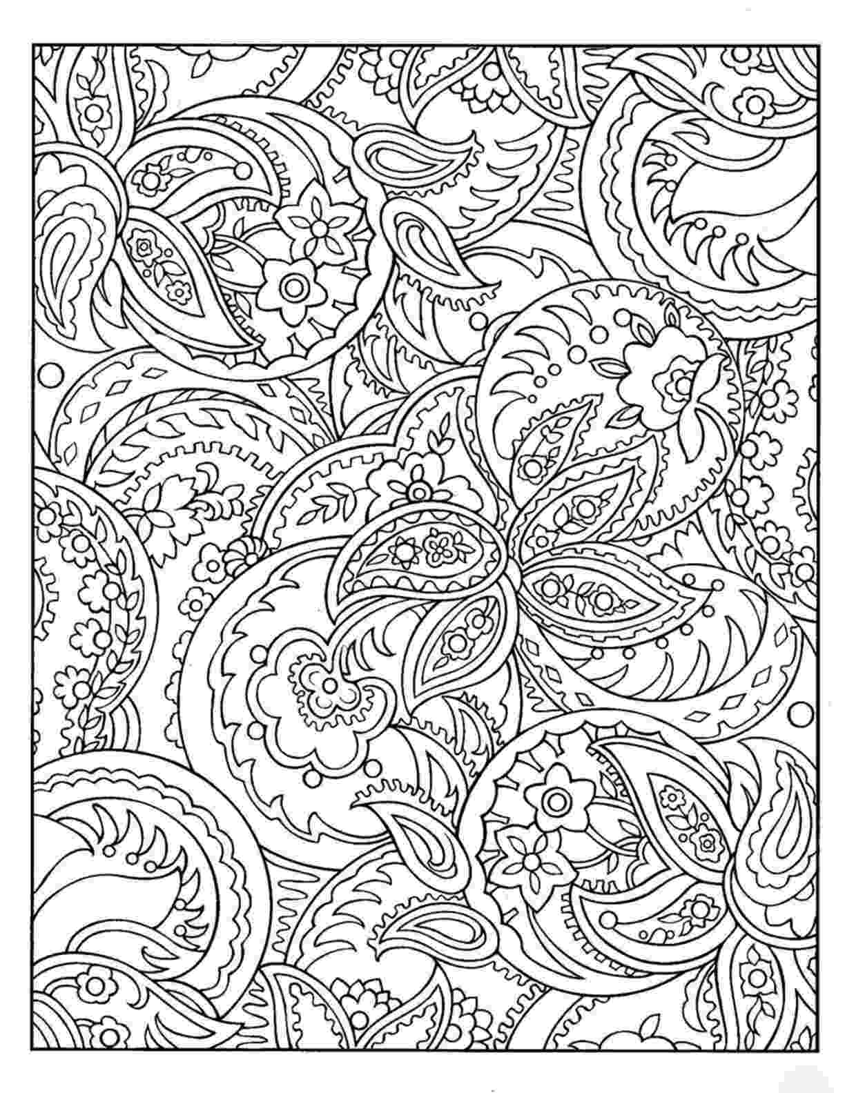 pattern colouring pages rug hooking paper pattern abstract paisley folk art unique colouring pages pattern