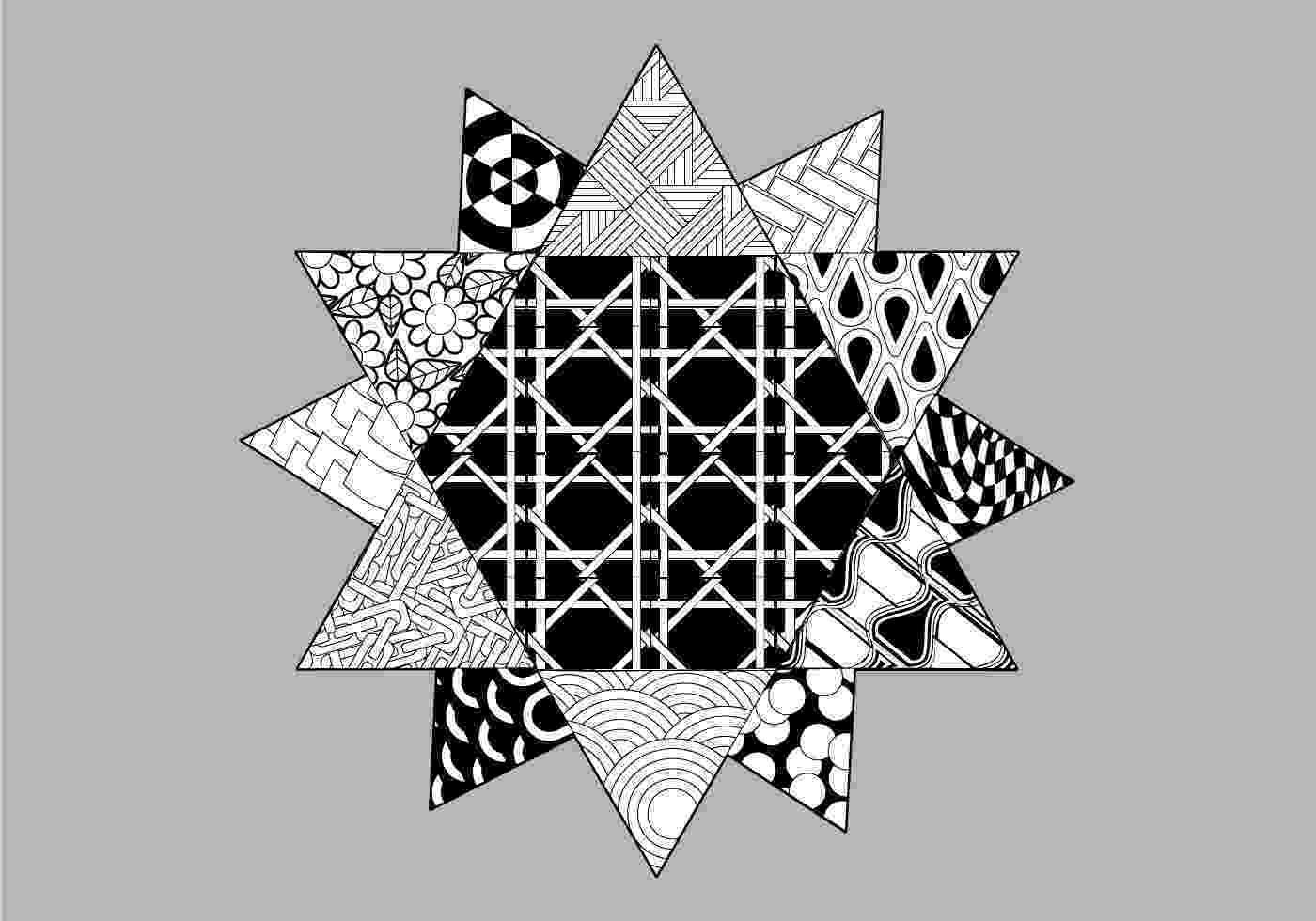 patterned coloring pages 3d coloring pages printable coloring home coloring patterned pages