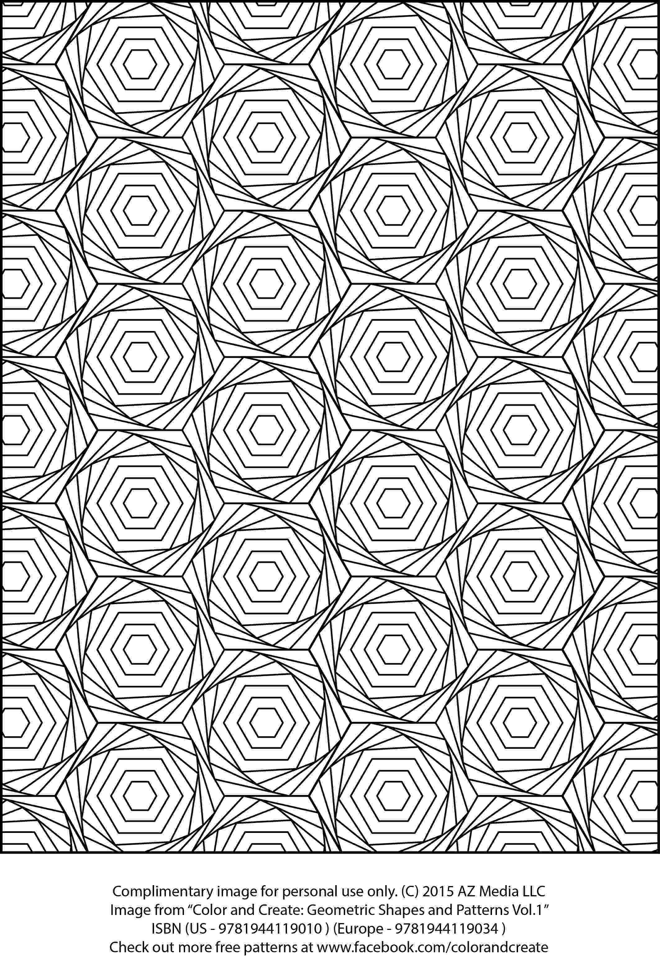 patterned coloring pages complimentary coloring sheet from quotcolor and create patterned coloring pages