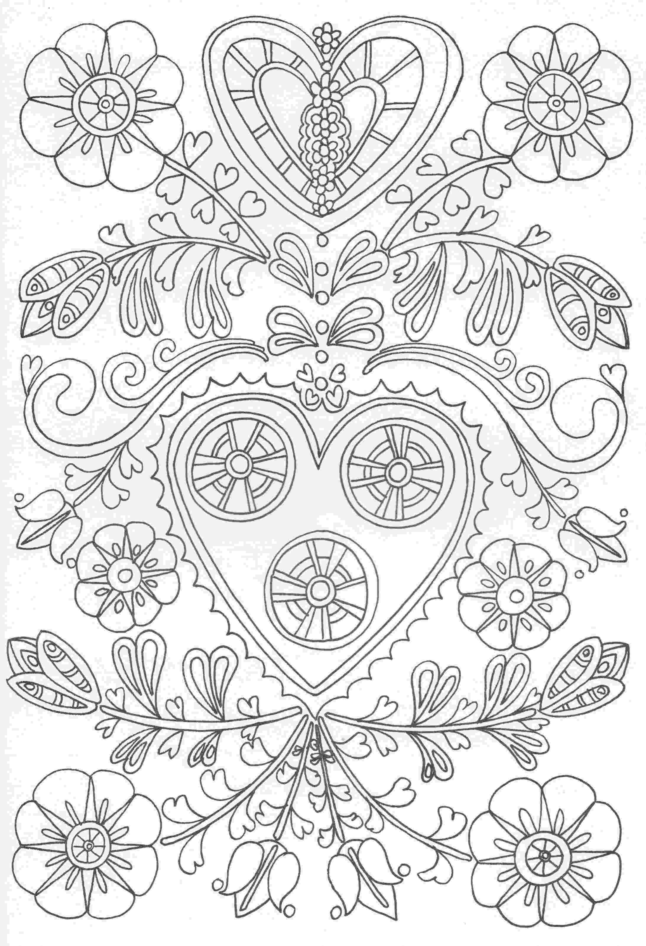 patterned coloring pages mosaic coloring pages of animals coloring home coloring pages patterned