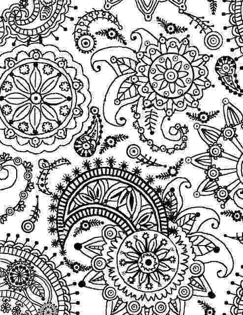 patterns coloring coloring page world paisley flower pattern portrait patterns coloring