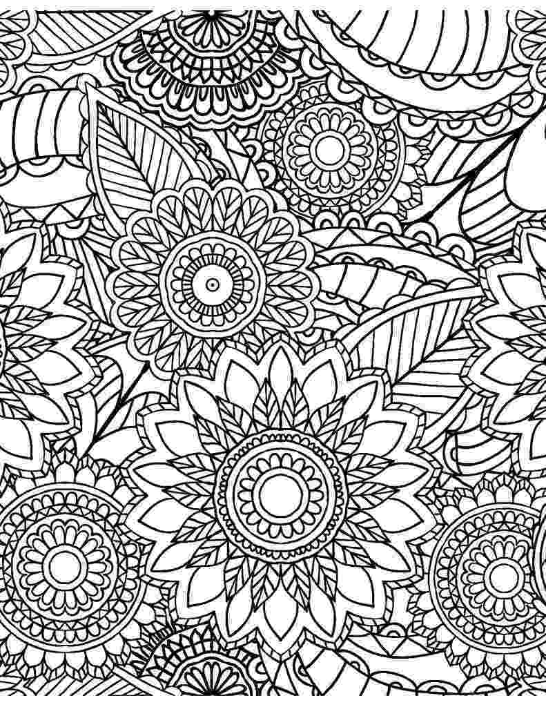 patterns colouring floral pattern coloring page free printable coloring pages colouring patterns