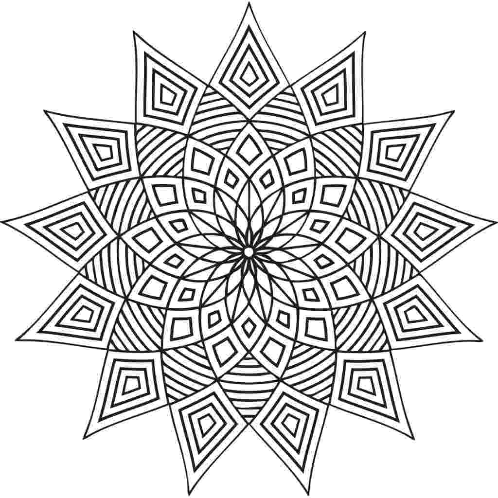 patterns to color and print free printable geometric coloring pages for adults color print patterns to and