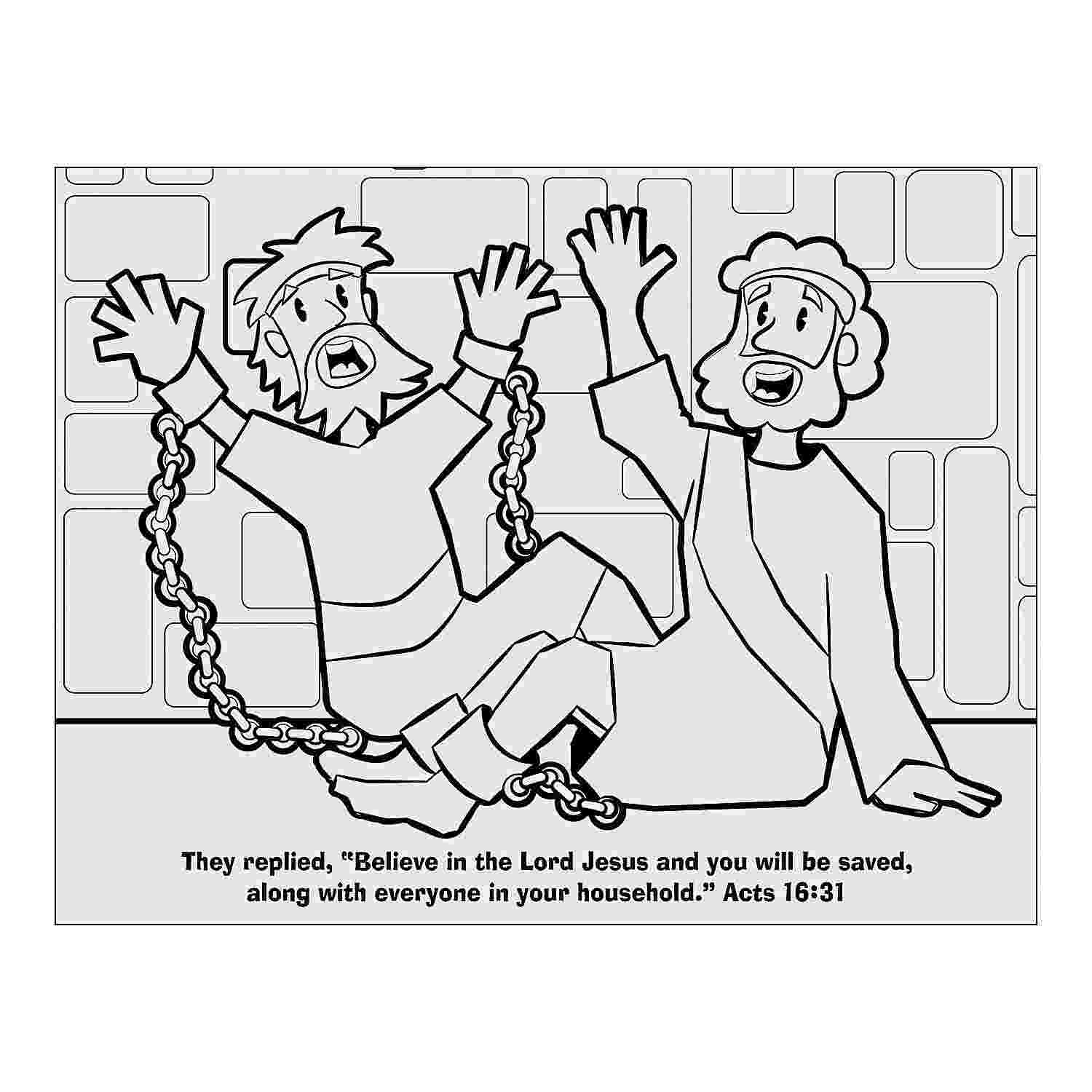 paul and silas coloring pages print paul and silas in prison coloring page bible coloring print and pages paul silas coloring