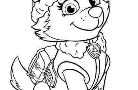 paw patrol coloring pages everest badge learn how to draw chase badge from paw patrol paw patrol patrol badge coloring paw pages everest