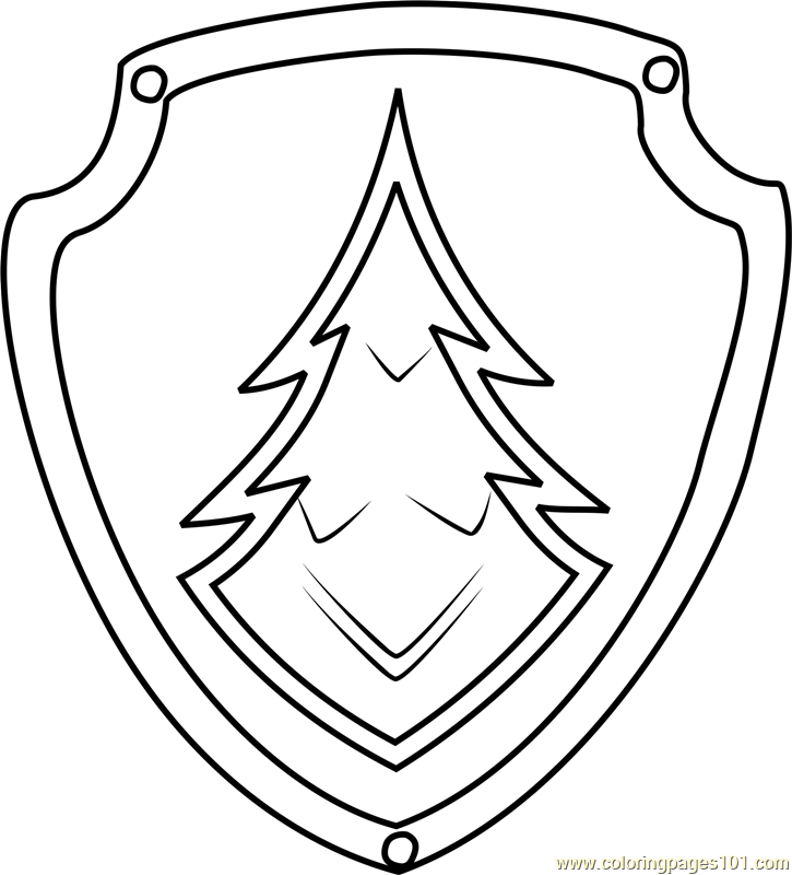paw patrol coloring pages everest badge learn how to draw everest badge from paw patrol paw coloring pages everest patrol badge paw
