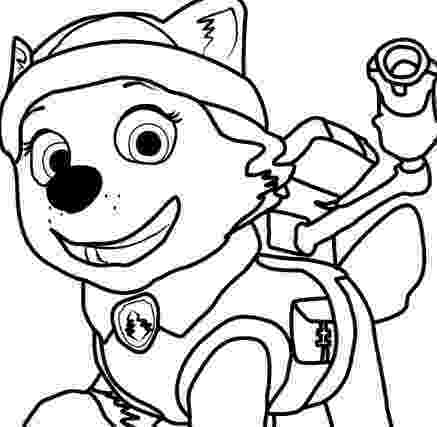 paw patrol coloring pages everest badge marshall badge coloring page free paw patrol coloring pages everest paw badge patrol coloring