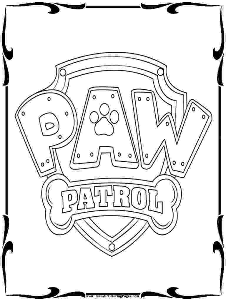 paw patrol coloring pages everest badge paw patrol everest coloring page at getcoloringscom paw pages patrol badge coloring everest