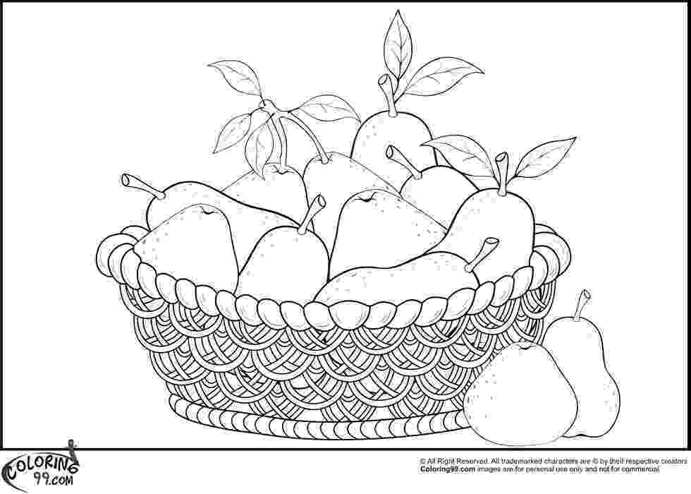 pear coloring page free pear coloring pages for your loved ones page coloring pear