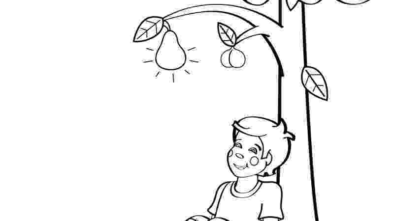 pecan tree coloring page clipart happy cute chipmunk waving in profile royalty page coloring pecan tree