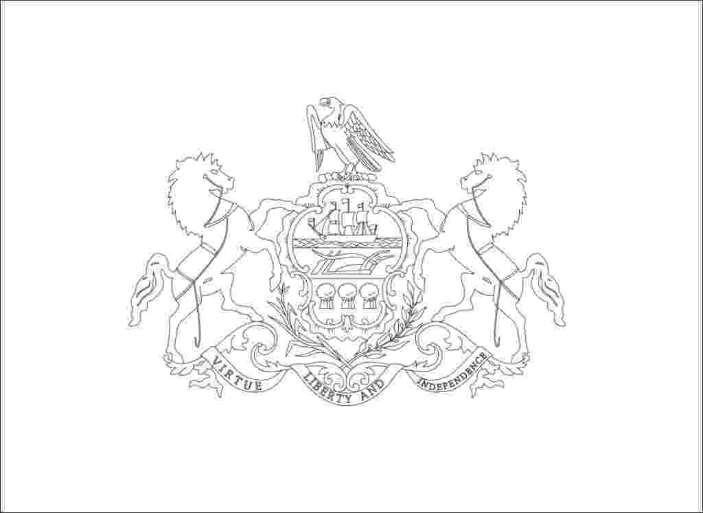 pennsylvania coloring pages pennsylvania coloring page and state facts teaching coloring pages pennsylvania